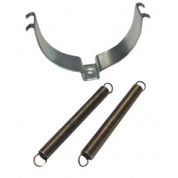 Metal Exhaust Clamp + Springs