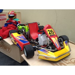 Kart 1/2 Without Electric Parts (Radio, Servos, LiPo)